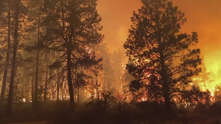 At least 31 new fires spark in Washington after lightning storm, concerning state officials