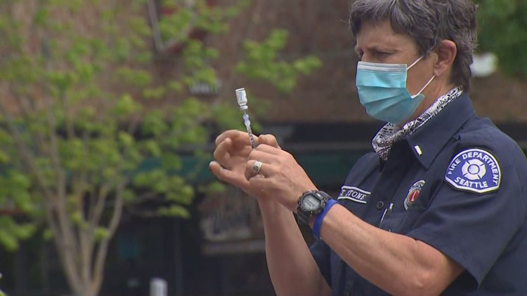 Seattle is the first major US city to fully vaccinate 70% of residents 12 and up against COVID-19