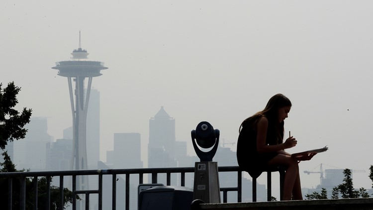 Climate trends offer warning sign of more smoke events in Washington