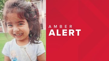 AMBER Alert issued for 3-year-old girl in Wapato