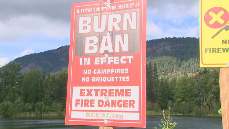 Will incoming rain put an end to Washington's fire season?