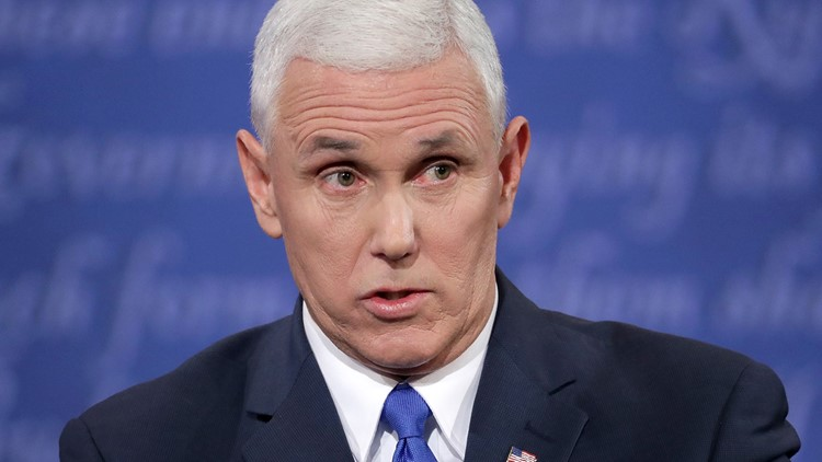 <p>WASHINGTON — GOP vice presidential candidate Mike Pence said Thursday he didn't spend time in Tuesday's debate defending some of Donald Trump's past comments because Trump no longer believes what he said.</p>