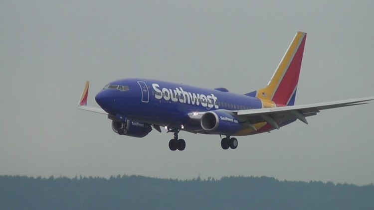 Southwest Airlines cancels more flights nationwide Monday, including some leaving  Sea-Tac Airport