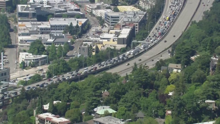 Washington drivers expected to hit roads in record numbers for Fourth of July