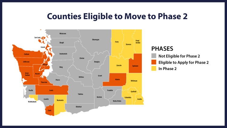 5-19-20 All Washington counties eligible to move to phase 2