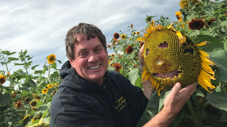 Sunflower Face and Marv Thomas