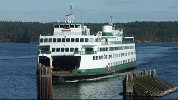 Ferries will be extra crowded this weekend with holiday travelers