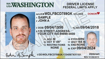 Outages resolved at Washington driver's license offices