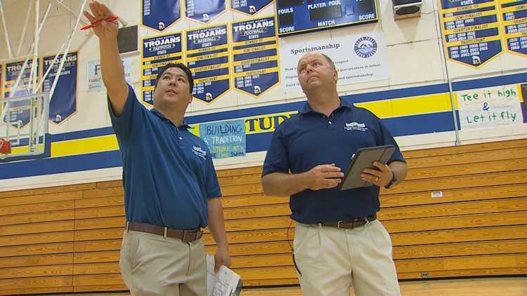 Washington schools inspected for earthquake readiness
