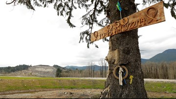 Oso memorial ceremony honors victims 5 years later