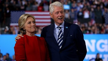 Bill and Hillary Clinton bring speaking tour to Seattle