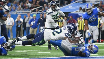 Russell Wilson throws 3 TDs in 2nd quarter, Seahawks top Lions 28-14