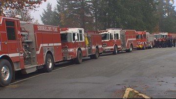 Washington firefighters returning from California wildfires