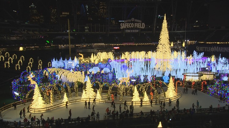 'Enchant' transforms Safeco Field into a winter wonderland