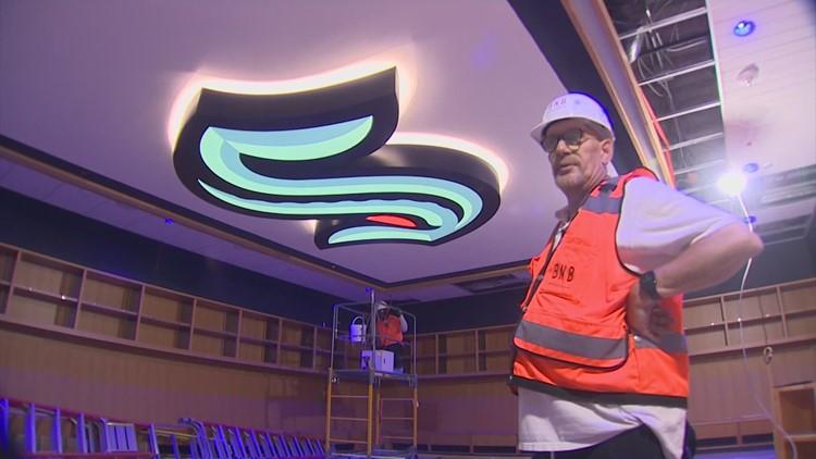 A look inside the nearly-complete Seattle Kraken Community Iceplex
