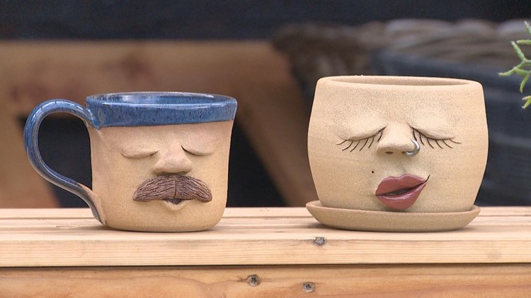 Pottery with personality handcrafted in Chimacum