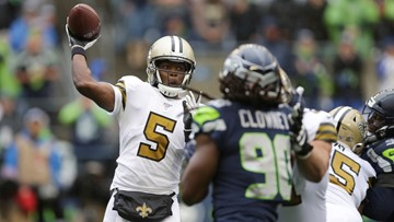 No Brees, no problem: Saints top Seahawks 33-27