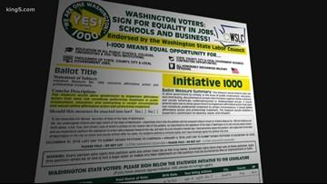 Washington voters reject affirmative action measure