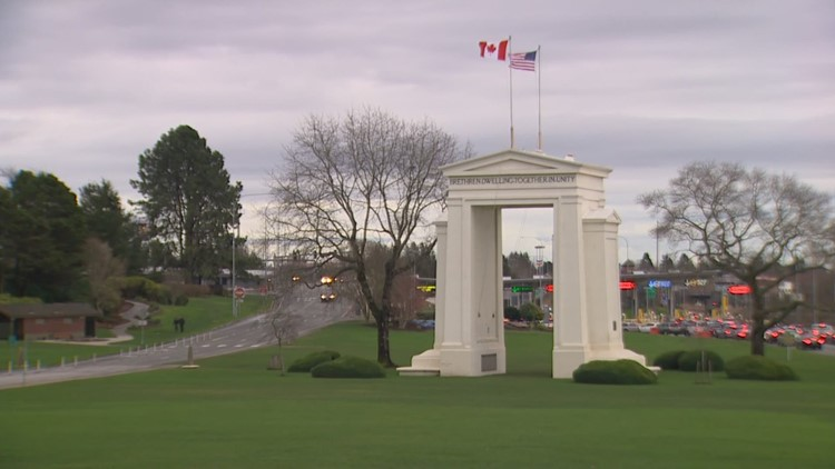 British family decries treatment by US after driving across Canadian border into Wash.