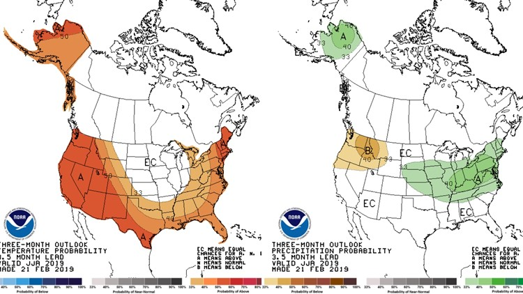 Washington's summer expected to be warmer, drier than normal