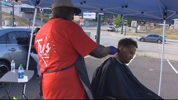 Tacoma barber fights homelessness one free haircut at a time