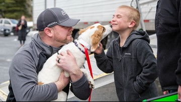 7-year-old boy recognized for saving 1,500 dogs