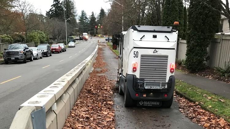 'OK Broomer': Seattle's bike lane sweeper gets a name