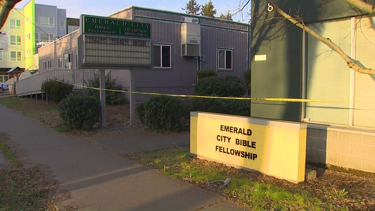 Police search for shooting suspect after man killed at church in Seattle's Rainier Valley