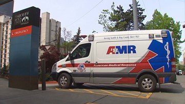 EMTs not warned of transporting possible coronavirus patient in Seattle