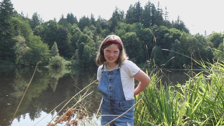 'Amazing': Young scientist alerts King County officials to invasive aquatic plant in Lake Rasmussen