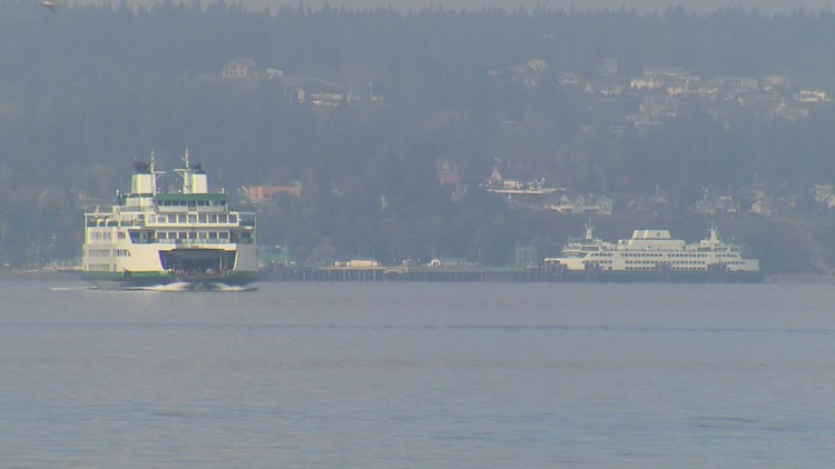 'The new norm': Washington ferry workers call out sick in protest of COVID-19 vaccine mandate