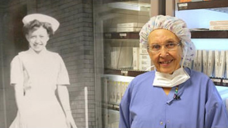 Oldest working nurse in the country retires from Tacoma hospital