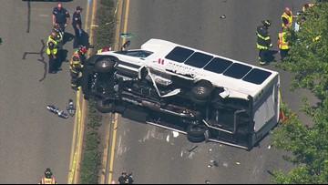 Man killed in SeaTac crash after car strikes hotel shuttle