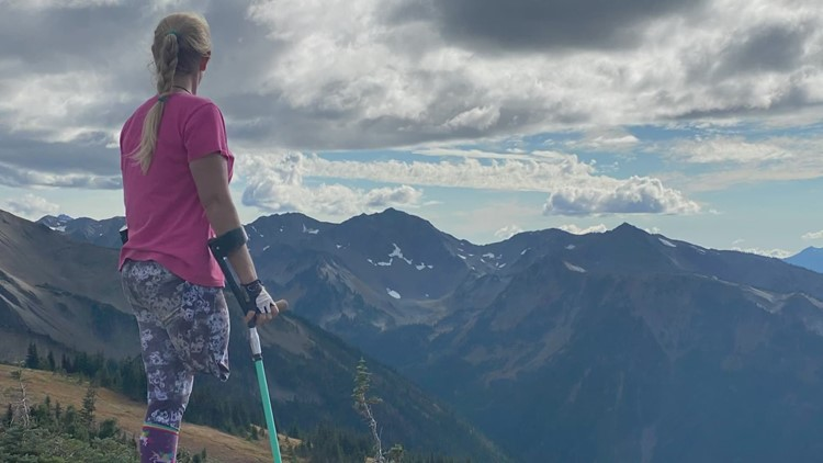 Port Angeles amputee to run marathon on crutches to raise awareness for domestic violence survivors