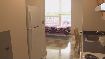 Apartment complex to house 100 homeless people in North Seattle
