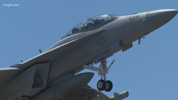 Washington AG sues Navy over Growler jet expansion on Whidbey Island