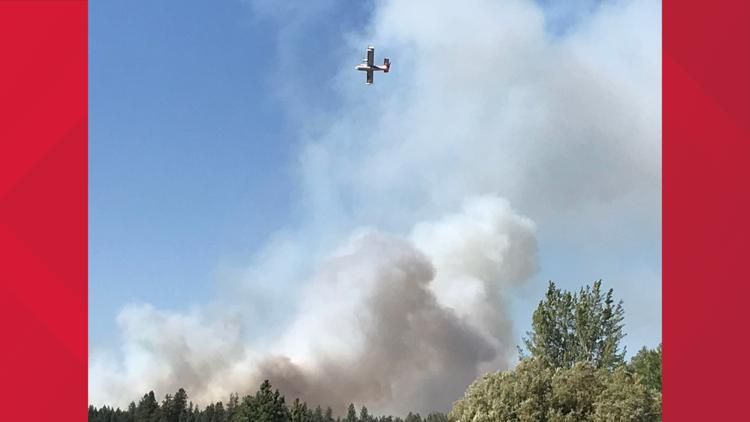 Sherwood Fire on Spokane Reservation burning over 1,000 acres, prompts immediate evacuations