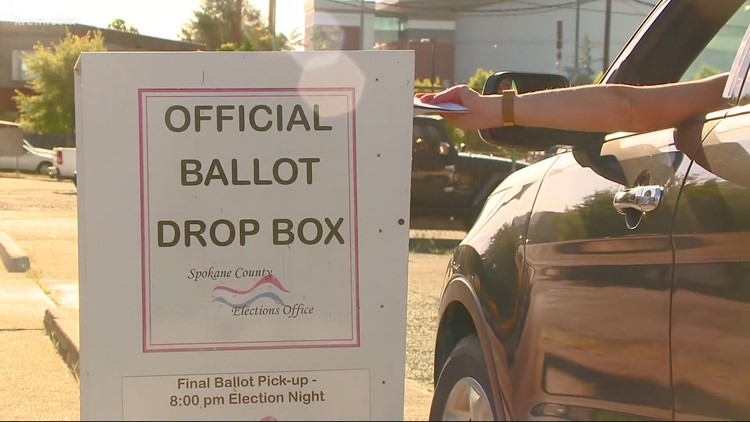 Here's where you can drop off your general election ballots in Spokane County