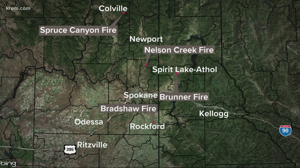 4 new fires in Washington, North Idaho Friday and other top stories at 11 p.m.