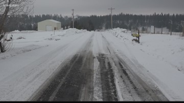 Spokane County now mostly free of snow drifts
