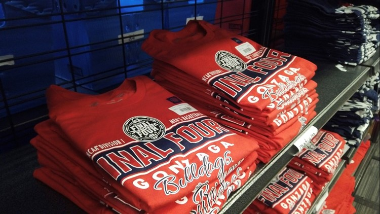 Where to get Gonzaga merchandise for the big game