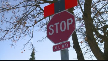 New stop sign at High Drive and Grand Blvd. causing traffic issues