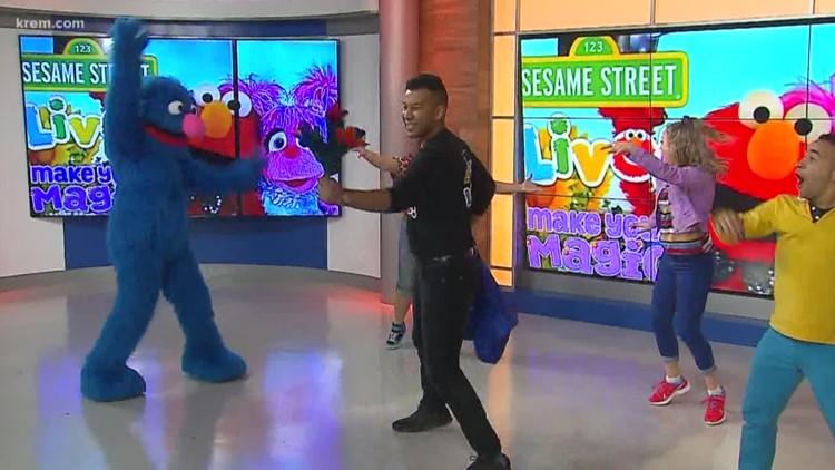 Sesame Street visits Up with KREM