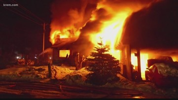 3-year-old twin boys die in house fire in North Central Idaho