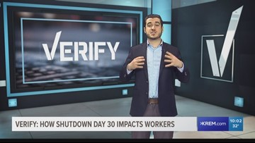 VERIFY: Will federal workers be laid off after 30 days?