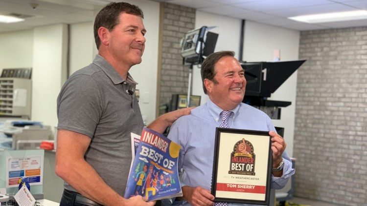 Inlander readers vote Tom Sherry Best TV Weather Person for 26th year