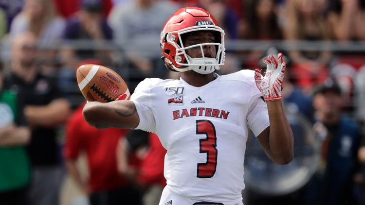 'We can do something special this year': EWU QB Barriere itching to get back on the field
