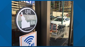 'Our mission is to spread love': Coeur d'Alene group, businesses partner to fight hate