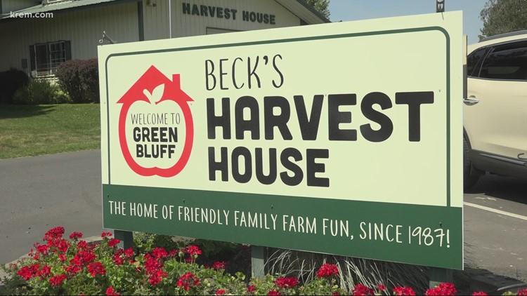 Despite drought, historic heat in Spokane, Green Bluff fruit farm sees great harvest