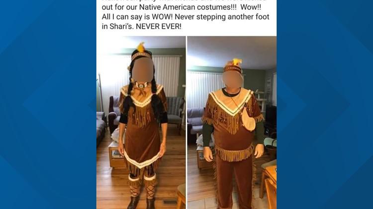 Native American costumes